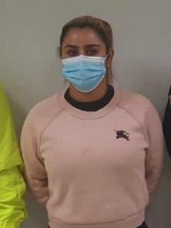Nini Johana Úsuga fue capturada por tercera vez este miércoles.