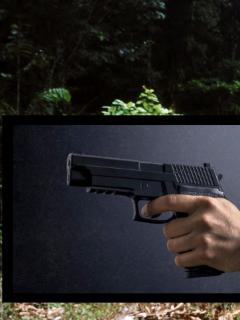 Imagen de arma que ilustra nota; asesinan a líder indígena María Bernarda Juajibioy y a su nieta, en Putumayo