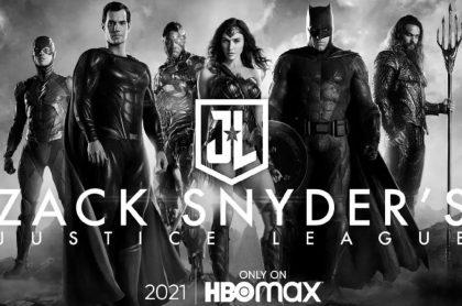 Poster de 'Zack Snyder's Justice League', a propósito del estreno de su película.