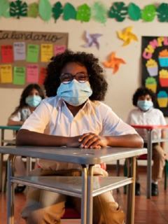 Campaña para que los niños desescolarizados vuelvan al colegio
