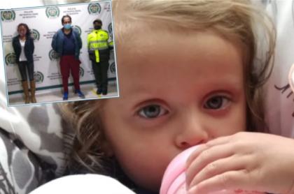 La madre de Sara Sofía Galván y su novio fueron capturados este jueves, y la tía de la niña dice que la han llamado para avisarle que estaría viva y con migrantes venezolanos