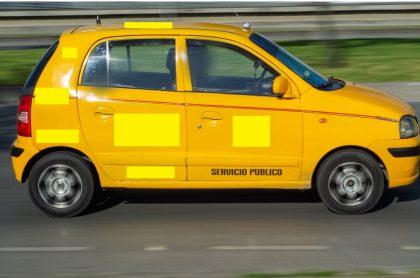 Imagen de taxi que ilustra nota; en Buenaventura, capturan a taxista acusado de abuso sexual contra niña de 13 años