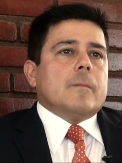 Juan Carlos Menes, exmayor de la Policía que es testigo clave en investigación contra Santiago Uribe Vélez, que fue liberado
