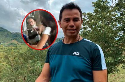 Mujer golpeada por sus hijos en Armenia y Jhonny River, que le respondió sobre regalos que le pidió