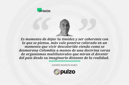 Frase destacada sobre columna de Colombia ante los maquiavélicos planes desestabilizadores de sectores