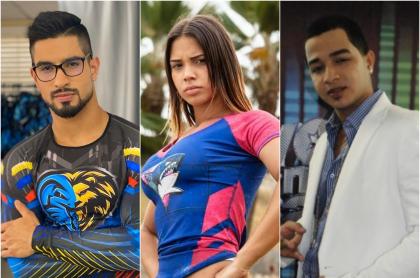 Juan David Aldana, María Fernanda Aguilar y J Álvarez, exparticipantes de 'realities' que han muerto