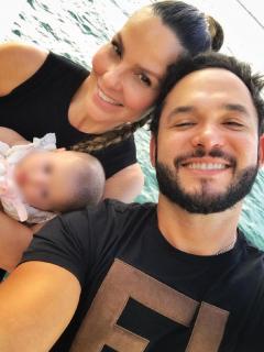 Paula Andrea Batencur muestra foto de su esposo y desmiente separación
