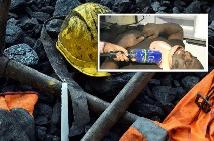 Mineros atrapados en Cali hoy 20 de marzo; uno ya fue rescatado.