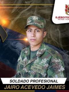 Soldado fue asesinado por francotirador del Eln en El Catatumbo