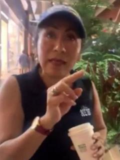 Mujer cristiana sermonea en centro comercial de Veracruz (México) a pareja gay y le dice que se irá al infierno.