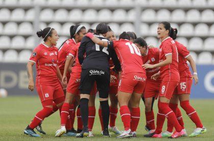 Ver en vivo el partido de la América de Cali vs, Ferroviaria, en la final de la Copa Libertadores femenina.