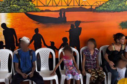 Arauca: desplazamiento desde Venezuela haciaColombiapor combates