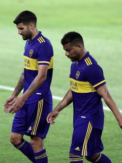 Críticas a Frank Fabra por cachetada a Izquierdos en el último partido de Boca Juniors.