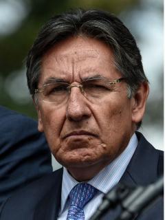 Néstor Humberto Martínez, quien fue criticado por Margarita Rosa de Francisco luego de que publicara columna contra Petro