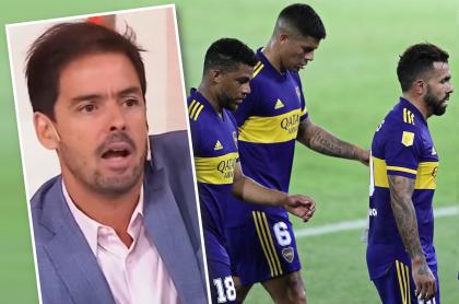 Del caos en Boca Juniors, jugadores colombianos saldrán líderes: Mariano Closs. Fotomontaje: Pulzo.