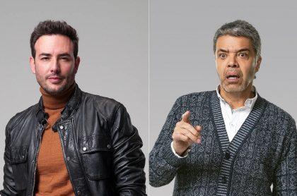 Sebastián Martínez y Luis Eduardo Arango, en 'Pa' quererte', a propósito de avance de esa y otras novelas de RCN de del 23 al 26 de marzo.