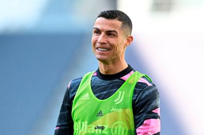 Foto de Cristiano Ronaldo ilustra nota sobre su cambio físico