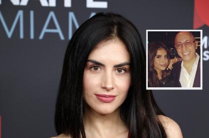 Jessica Cediel en un evento de Telemundo en 2019, dos años antes de lamentar la muerte de Alberto Ciurana, su exjefe.