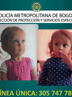 Sara Sofía Galván: Interpol emite una orden para buscar a la niña