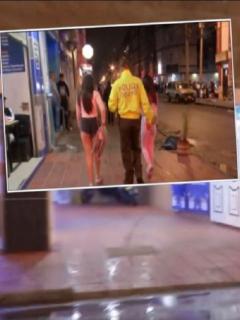 Imágenes del operativo en el barrio Santa Fe y del rescate de niñas explotadas sexualmente por alias 'madame'