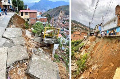 Atracaron a los bomberos de Medellín durante atención de emergencia