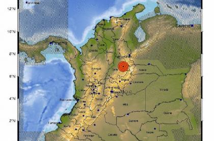 El segundo temblor del 24 de marzo también sacudió el oriente del país.