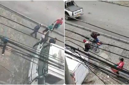 Ladrones en Bogotá, este jueves