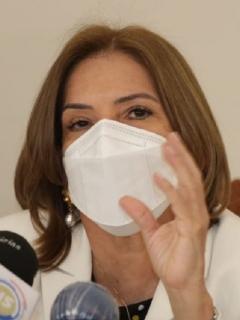 Margarita Cabello, procuradora general, que quiere reforzar las funciones de la Procuraduría