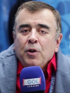 Javier Hernández Bonnet dice que Alejandro Fantino es como ver al diablo. Fotomontaje: Pulzo.