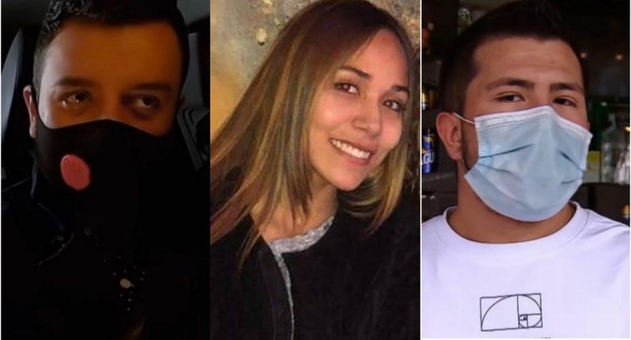 Paul Naranjo, Ana María Castro y Julián Ortegón ilustran nota de juicio de los jóvenes por feminicidio