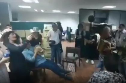Parranda en Alcaldía de Armenia