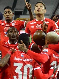 América no jugará en Cali próximos partidos de Copa Libertadores y Liga Betplay. Imagen de referencia del equipo escarlata.