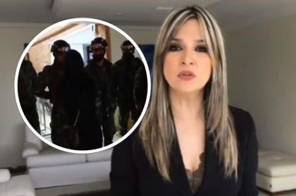 Soldado abofeteado por mujer, que defendió Vicky Dávila, y la periodista