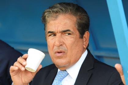 Kéylor Navas no ordenó caídas de Costa Rica para que sacaran a Jorge Luis Pinto. Imagen de referencia del entrenador colombiano.