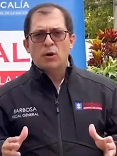 Archivan investigación contra el fiscal Francisco Barbosa por viaje a San Andrés. Imagen de referencia del fiscal.