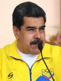 Nicolás Maduro culpa a las Farc de ataques en frontera de Colombia y Venezuela. Imagen del mandatario.