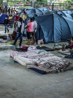 Venezolanos desplazados en Arauca ilustran nota de la calamidad pública declarada por el Gobierno en ese departamento