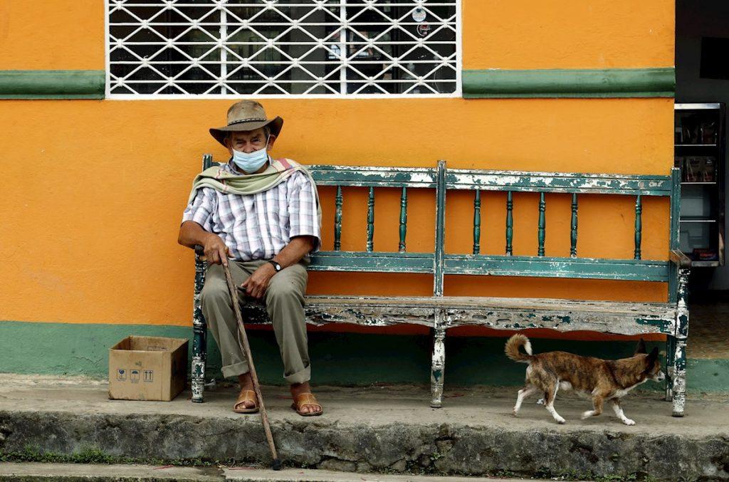 Adulto mayor en Campohermoso, Boyacá / EFE
