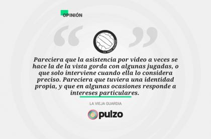 Frase destacada sobre la aplicación del arbitraje asistido por video en el mundo y en Colombia.