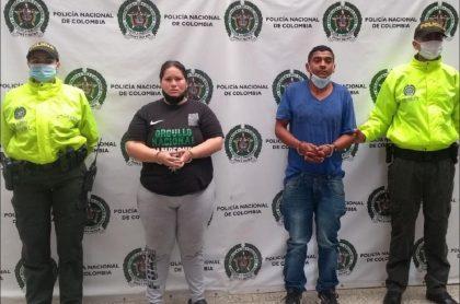 Captura de Rafael Antonio Echavarría y Sor Yaneth Quintero, pareja acusada de abusar sexualmente de sus 5 hijos en Bello