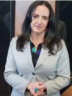 María Fernanda Cabal, quien arremetió contra la serie Matarife y aseguró que el premio India Catalina que ganó es para degenerados