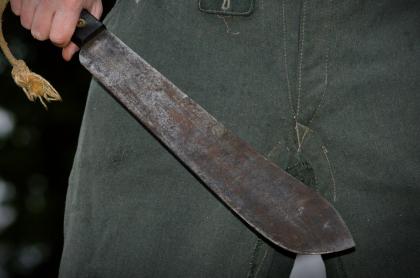 Imagen de machete que ilustra nota; cárcel a hombre que habría usado machete para agredir a exnovia, en Córdoba