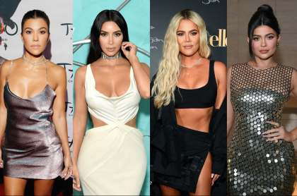 Foto de Kourtney Kardashian, Kim Kardashian, Khloé Kardashian, Kylie Jenner y Kendall Jenner, a propósito de cómo se cuidan contra la COVID-19
