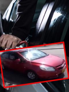 Imágenes que referencian el robo a un conductor de Beat.