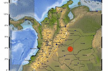 Después de un primer temblor de 4,3, cerca de la medianoche se produjo otro de magnitud similar.