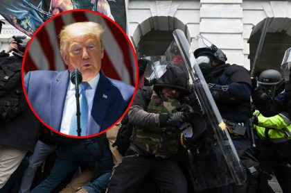 Donald Trump y asalto al Capitolio de Estados Unidos, a propósito de la demanda de policías contra el expresidente