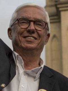 Imagen de Jorge Enrique Robledo, quien dice que no imagina alianza con Gustavo Petro