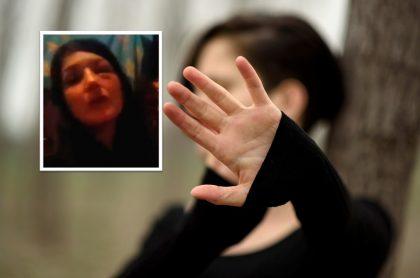 Mujer denuncia violencia intrafamiliar en Bosa, Bogotá.