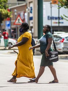 Mujeres sudafricanas.