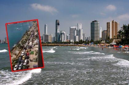 Cartagena, inundada por turistas en Semana Santa.
